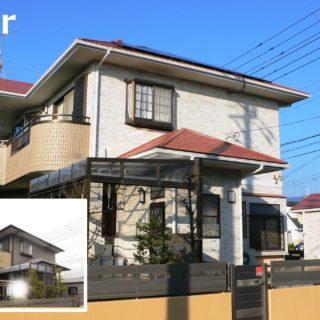 サイディングと屋根塗装/富士市S様邸