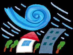 台風の備え