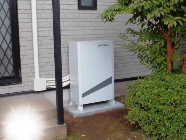 スマートスター蓄電池設置/長泉町W様邸