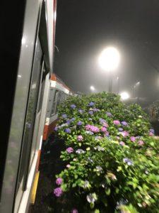 夜のあじさい号 ~箱根登山鉄道~